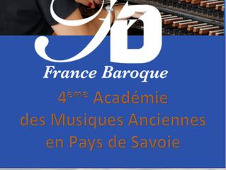 Stage de musique baroque 2021