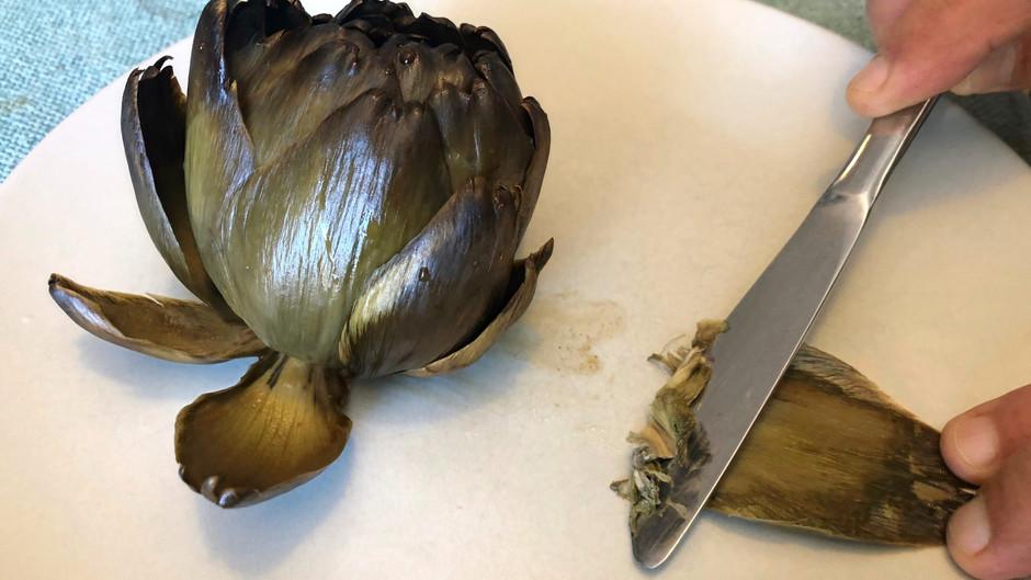 Sobre la manera de comer alcachofas