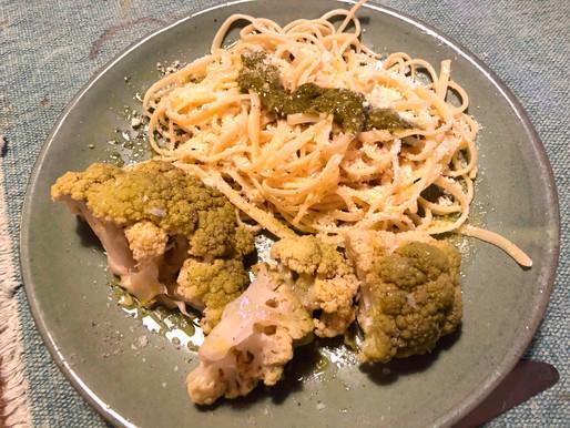 Un plato verde