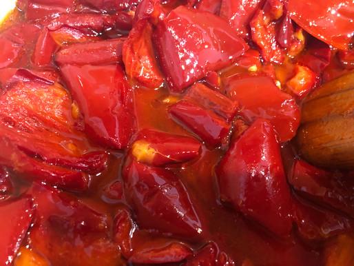 Pimientos rojos, la receta de mi madre