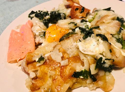 De huevos y patatas