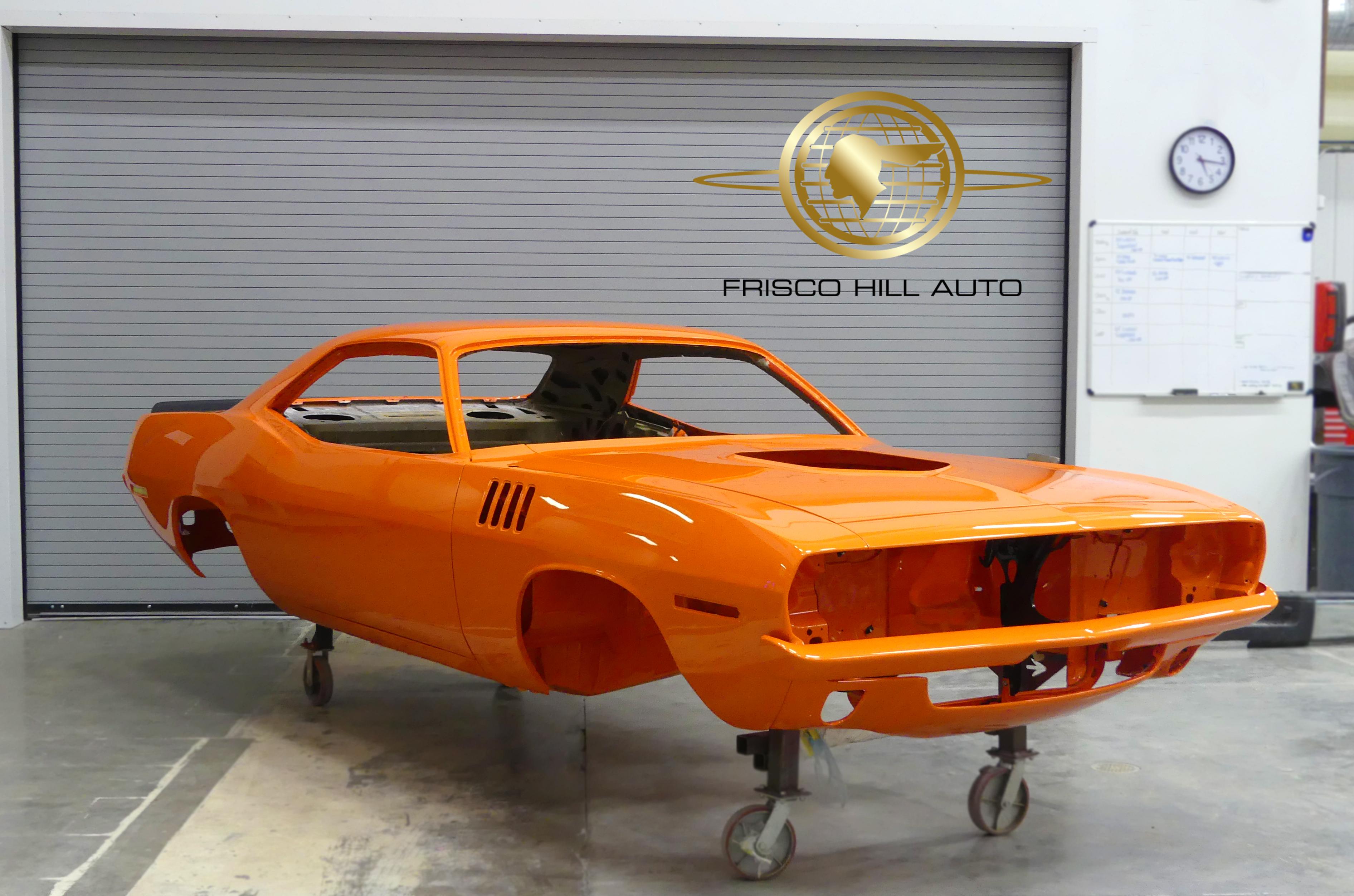 Frisco Hill Auto St Louis Missouri Classic Car Restoration Shop