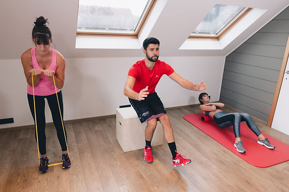 Renforcement musculaire exercices groupe