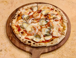 Brunello's Seafood Pizza