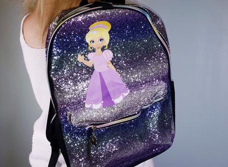 Decorating backpacks!