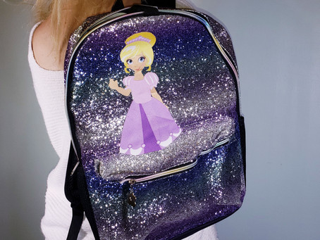 Decorating backpacks!
