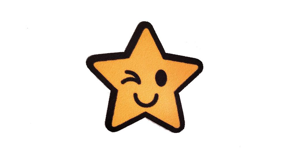 Winking star