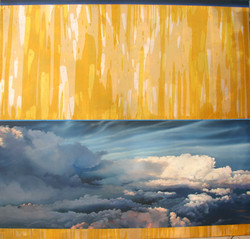 "'Across the Sky' | 54"" x 66"" | Sold"