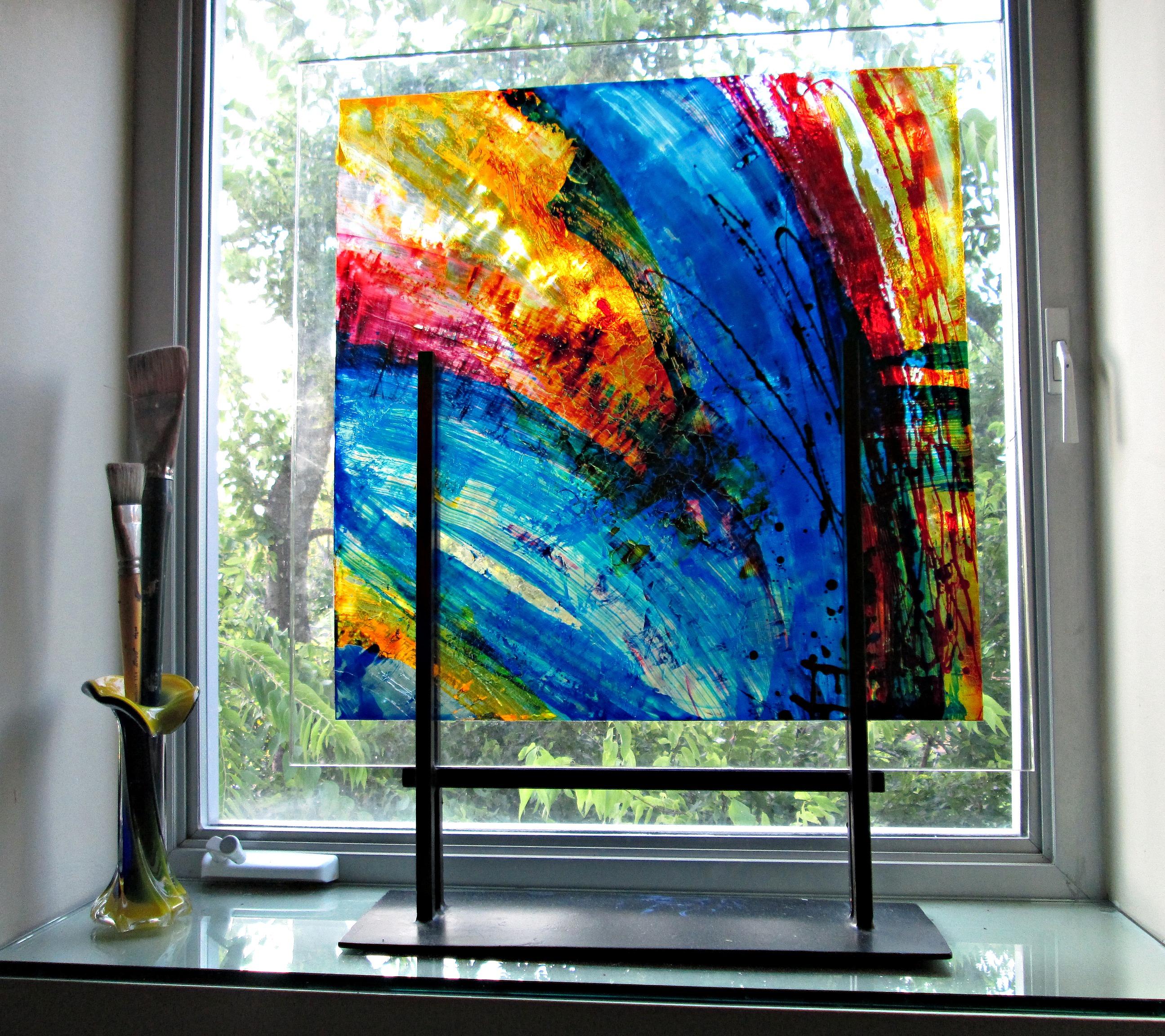 Square Glass II | 24 x 26