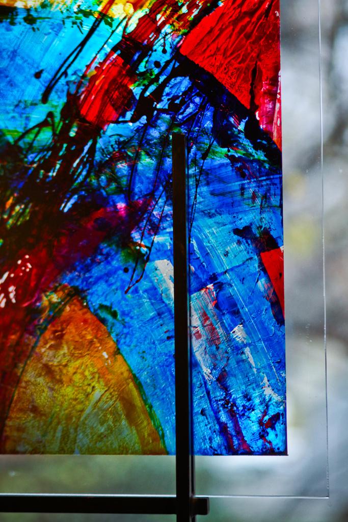 Square Glass I | 24 x 26