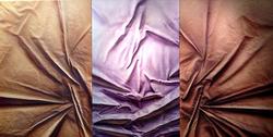 'Tan & Purple' Triptych | 48 x 72