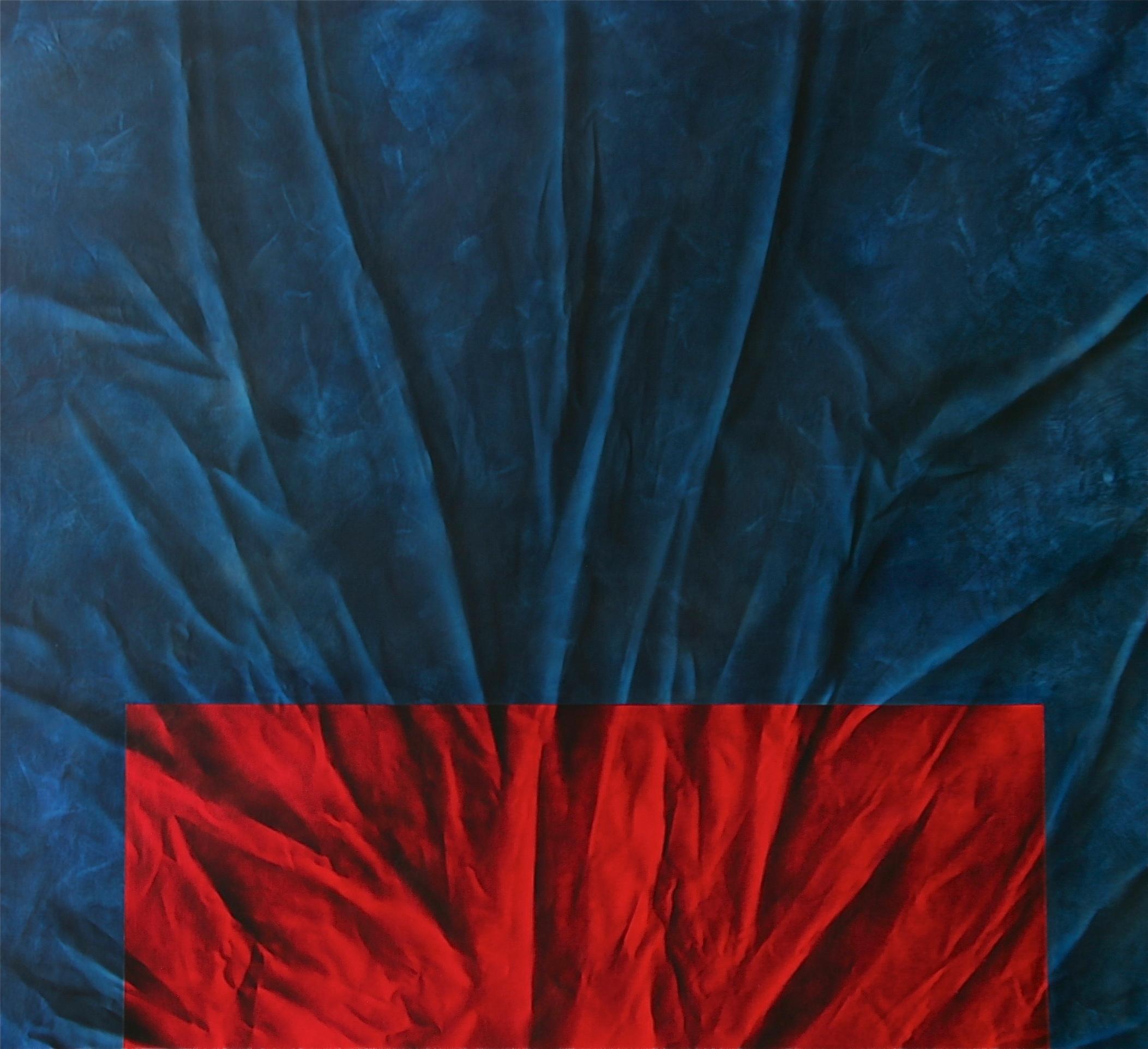 'Blue w/Red'   72 x 78