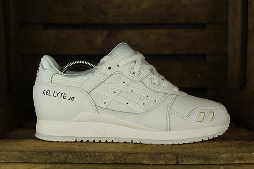 "ASICS GEL LYTE III ""ALL WHITE"""