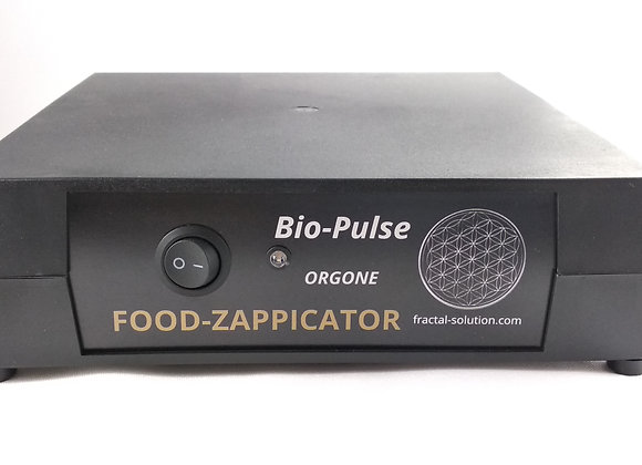Bio-Pulse Food Zappicator  with ORGONE ether energy accumulator