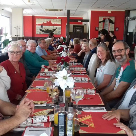 Samaritans in Spain Christmas meal and get together