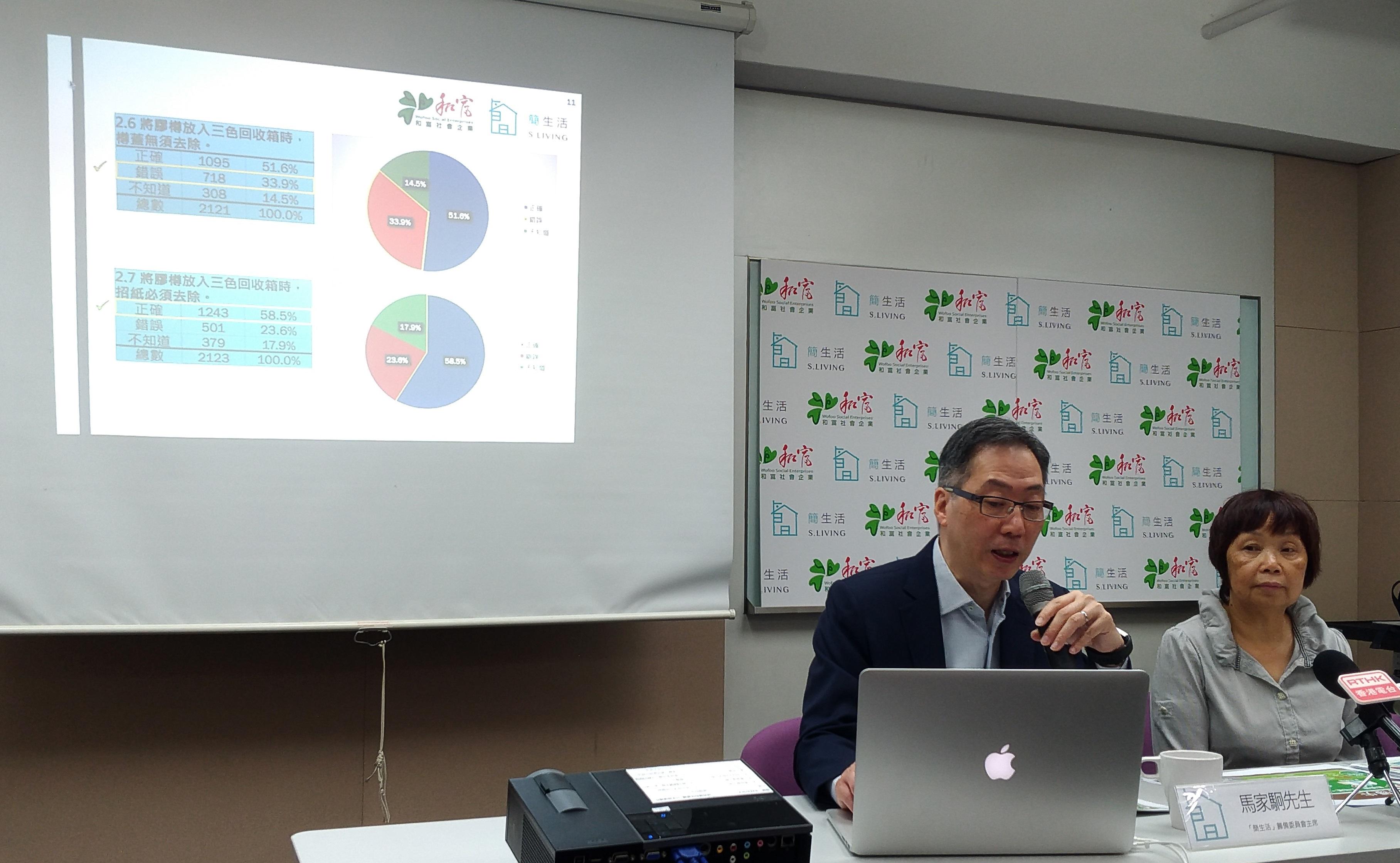 【香港小學生的資源回收知識及行為】調查報告