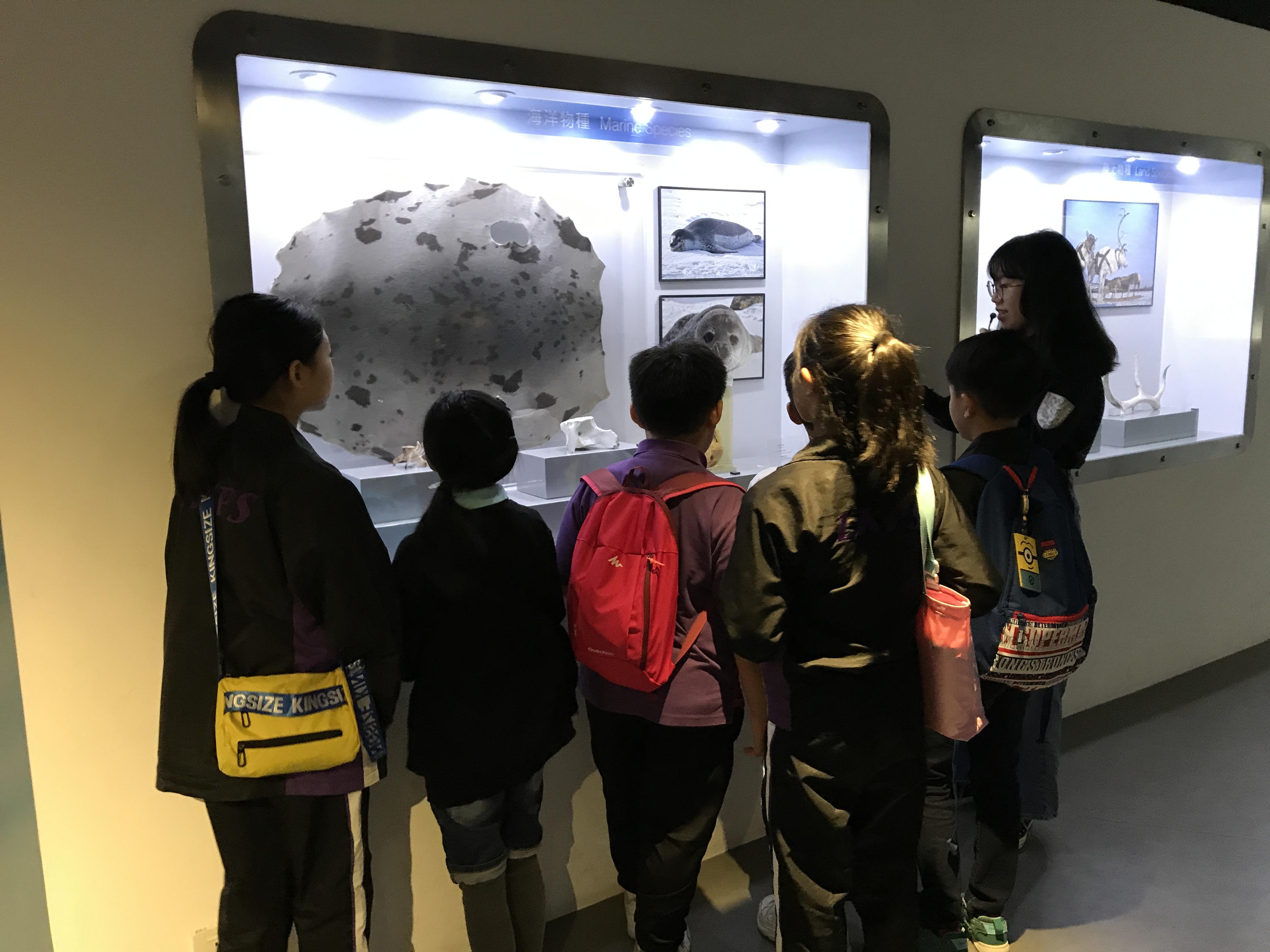 參觀香港中文大學賽馬會氣候變化博物館