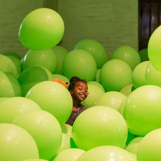 Ballonnenmeisje