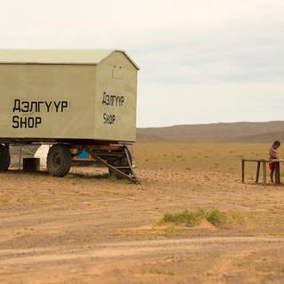 Mineralenwinkel in woestijn