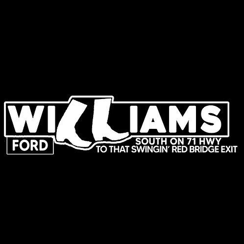 Boots Williams Tee