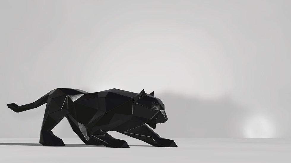 BLACK PANTHER DE METAL