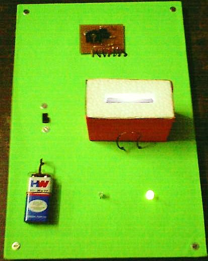 Electronic Letter Box Project
