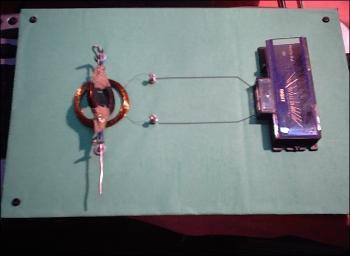 AC Generator Project using Magnet, coil , galvanometer