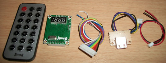 Parts for making MP3 Player with FM radio receiver