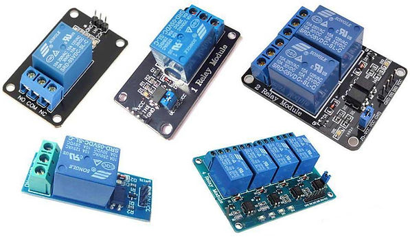 Types of relay driver module available for project