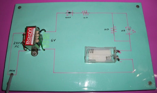Ni Cad Battery Charger Project, Nickel Cadmium charger project