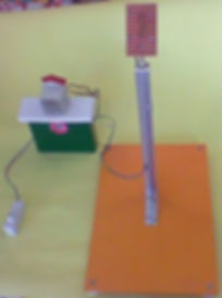 Model of solar cell project
