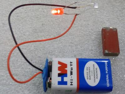 Experiment using hall effect sensor