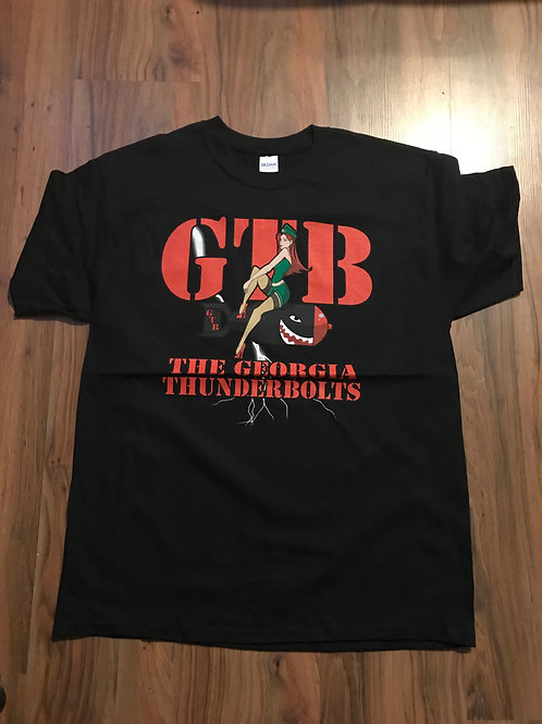 Black GTB (Front Only T Shirt