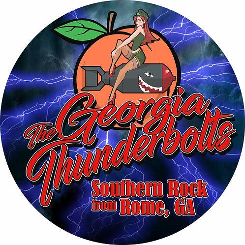 Georgia Thunderbolts Sticker
