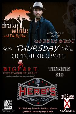 Drake White Herb's Music Hall