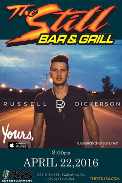 Russell Dickerson Poster updated