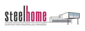 creation logo reunion pour Steelhome réalisé par le Studio Oxygène agence de pub graphiste à la Réunion