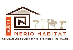 creation logo reunion pour Nerio Habitat Bâti réalisé par le Studio Oxygène agence de pub graphiste à la Réunion