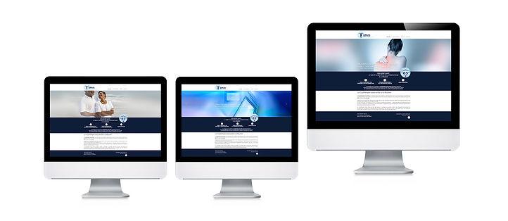 creation site web reunion pour Cryo Sport Santé réalisé par le Studio Oxygène agence de pub à la Réunion