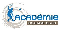 creation logo reunion pour Académie Squash Club réalisé par le Studio Oxygène agence de pub graphiste à la Réunion