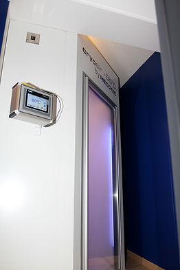 cabine de cryothérapie corps entier étang salé la réunion 974