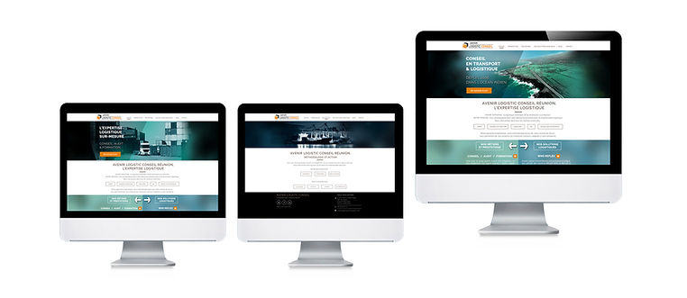 creation site web reunion pour ALC réalisé par le Studio Oxygène agence de pub à la Réunion