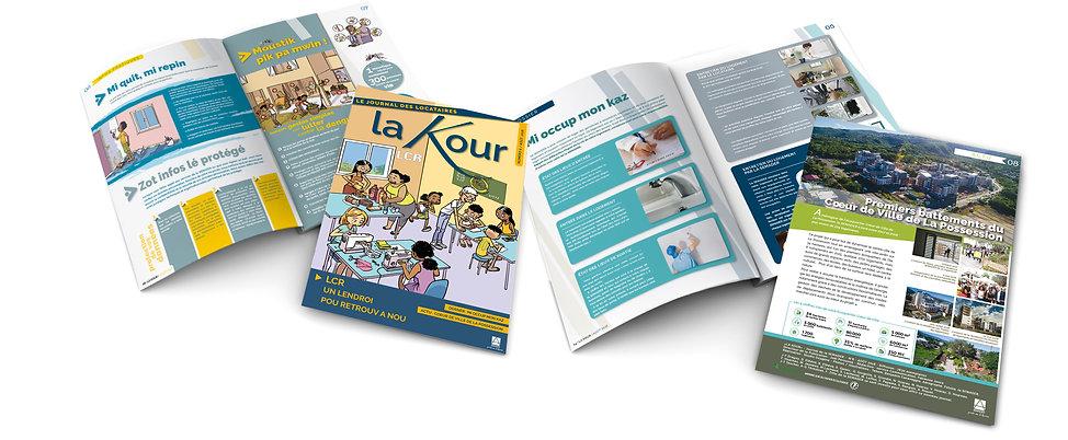 journal de 8 pages pour La Semader réalisé par le Studio Oxygène agence de pub à la Réunion 8 pages pour La Semader réalisé par le Studio Oxygène agence de pub à la Réunion