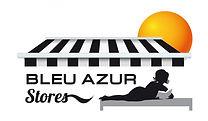 creation logo reunion pour Bleu Azur réalisé par le Studio Oxygène agence de pub graphiste à la Réunion