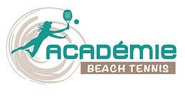 creation logo reunion pour Académie Beach Tennis Club réalisé par le Studio Oxygène agence de pub à la Réunion