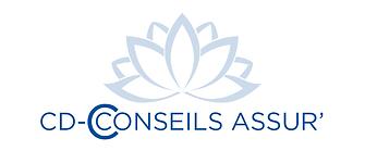 creation logo reunion pour CD Conseils Assur Reunion réalisé par le Studio Oxygène agence de pub à la Réunion