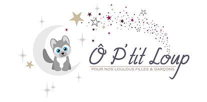 creation logo reunion pour Ô P'tit Loup réalisé par le Studio Oxygène agence de pub graphiste à la Réunion