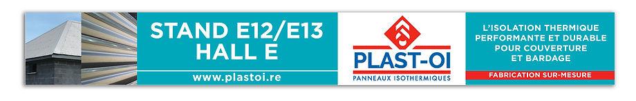 creation bannière web reunion pour PLAST OI réalisée par le Studio Oxygène agence de pub à la Réunion