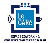 creation logo reunion pour Le Caré coworking réalisé par le Studio Oxygène agence de pub graphiste à la Réunion
