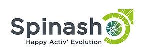 creation logo reunion pour Spinash réalisé par le Studio Oxygène agence de pub graphiste à la Réunion